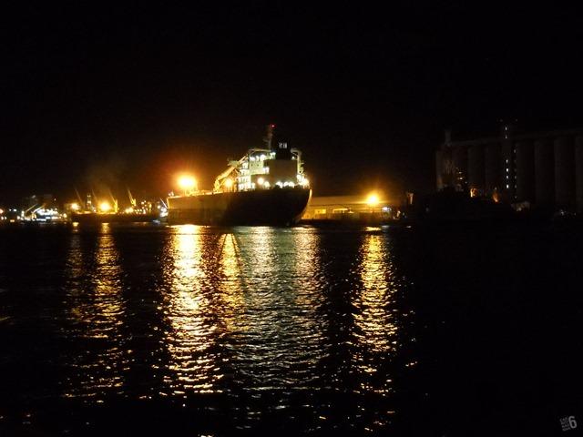A Mauritius-based ship.