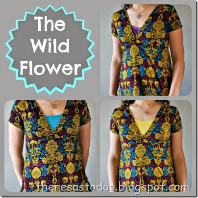 The Wild Flower Top