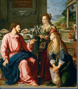 Cristo na Casa de Marta e Maria
