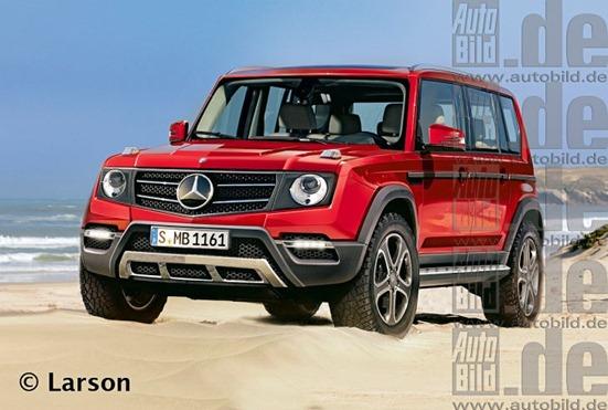 Auto Concept: Rendering Mercedes GLG Class