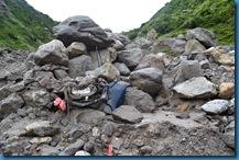 Crushed Car Badrinath Flash Floods