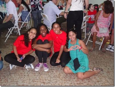 Ministério Jovem Incendeia (Bárbara Maria, Daniela Carneiro, Larissa Caroline e Brunna Santos)
