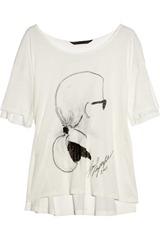 Karl Jacinda Karl-print jersey T-shirt