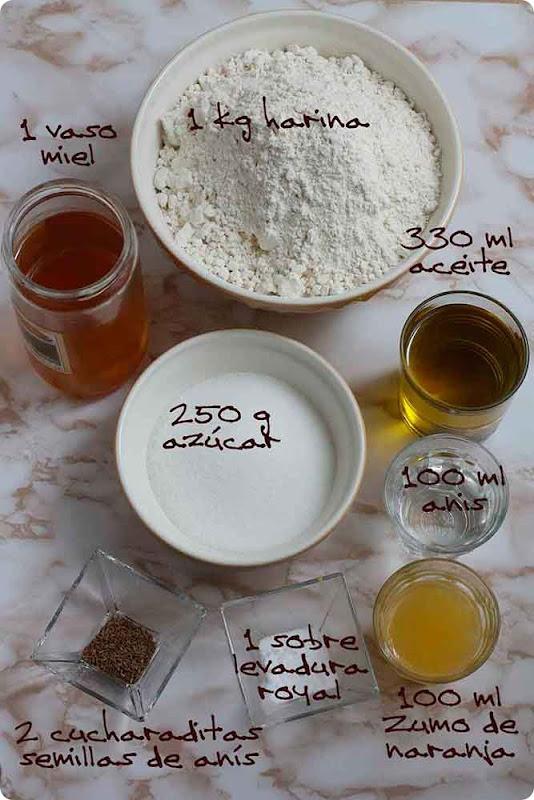 tortas-de-miel-ingredientes