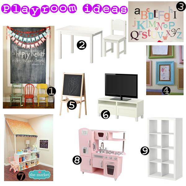 Playroom Design Board