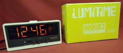 Lumitime CC-24 clock with box