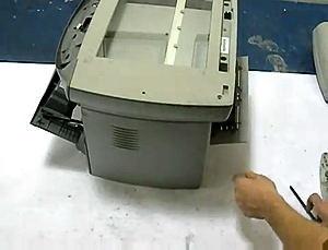 Fix HP 3300 3330 Scanner Bulb Warm Up Error (5)