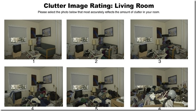 Clutter Scale