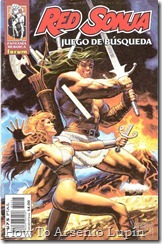 P00003 - RED SONJA - Juego de Bsqueda