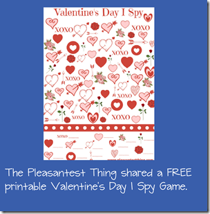 Valentine's Day I Spy Game for Kids