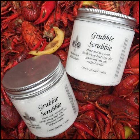 grubbie scrubbie crawfish