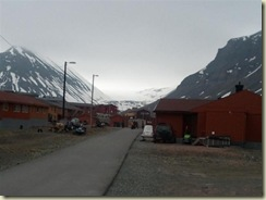 Longyearbyen Town and Glacier (Small)