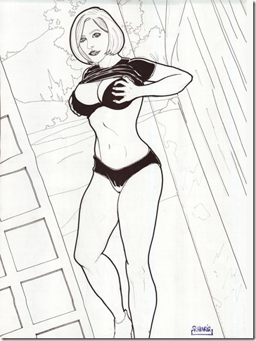 PowerGirl Sexy ladies by PHenrique
