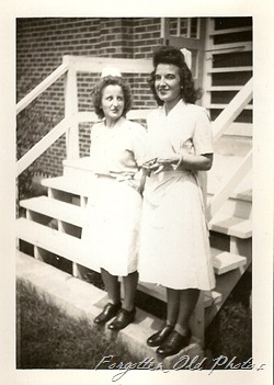 Shorty and Miss Nuss Nurses Green Bay Wisc