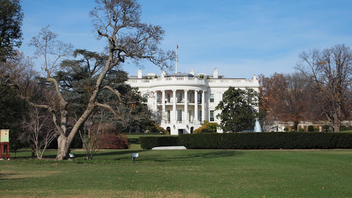 The White House! Finally there!