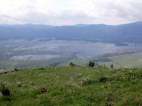 Pogled na Cerkniško jezero