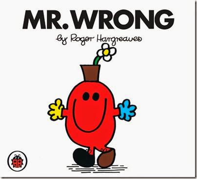 34 Mr. Wrong