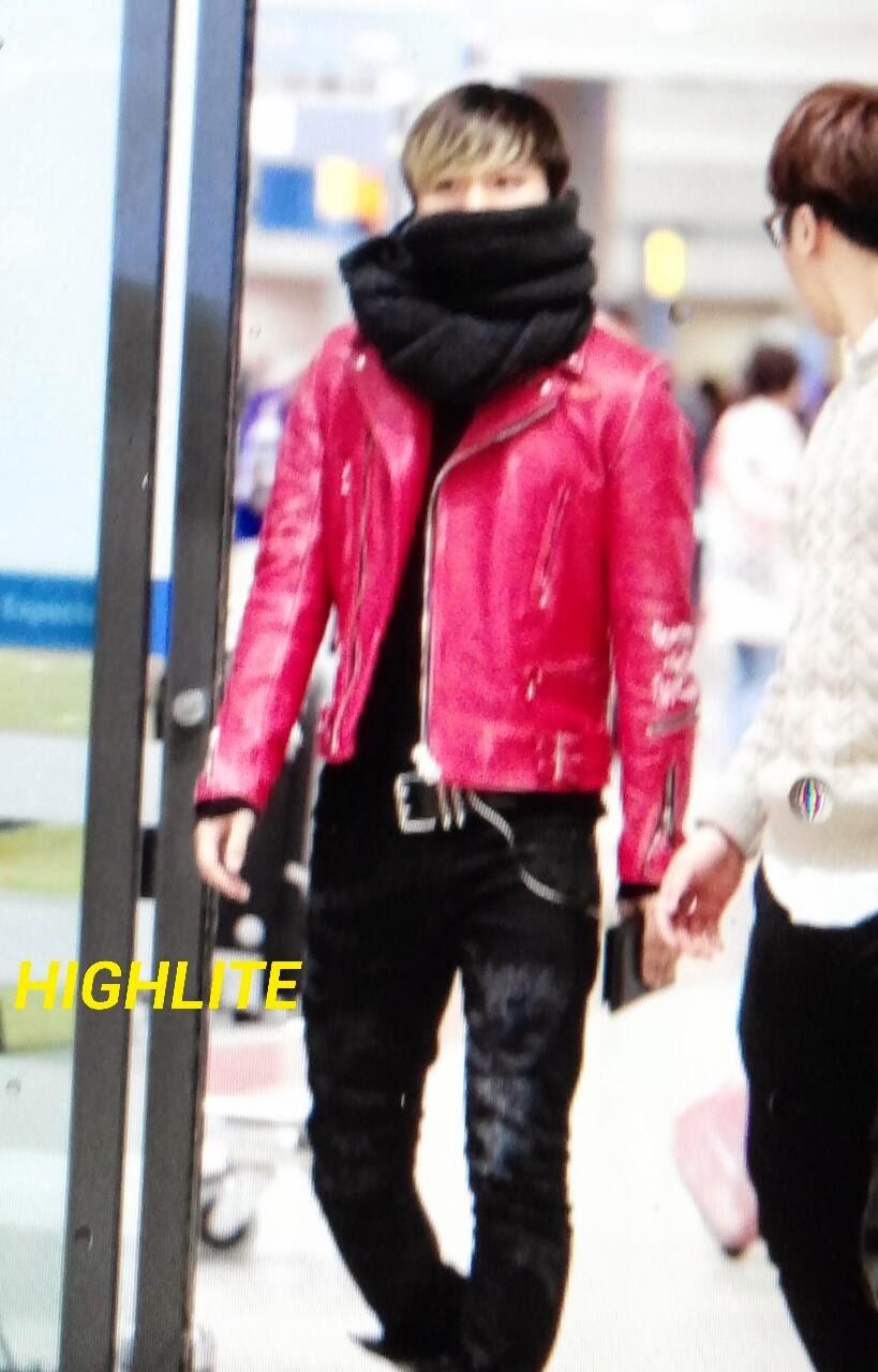 Dae Sung & Seung Ri - Incheon Airport - 09dec2013 - Dae Sung - Fan - High Lite - 01.jpg