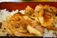 Succulent, juicy goodness of Teriyaki Boy Chicken Ju