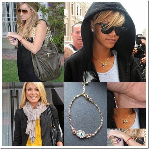 Celebrity Evil Eye Bracelets