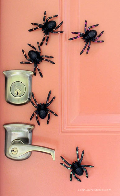 Creepy Crawly Magnetic Spiders by Leigh Laurel Studios