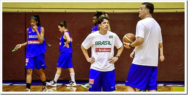 Seleção Brasileira Sub-17 Feminina de Basquete - Treino da Seleção Brasileira Sub-17 Feminina. - Brasil - sp - São Bernardo do Campo - Ginásio Baetinha -  - www.inovafoto.com.br - id:66182