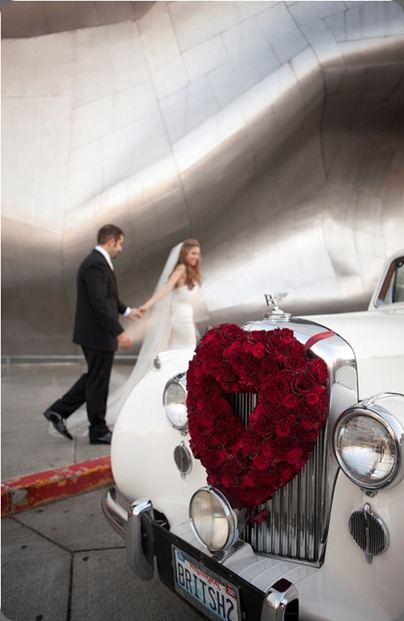 wedding-car-flowers-red-roses  flora nova seattle