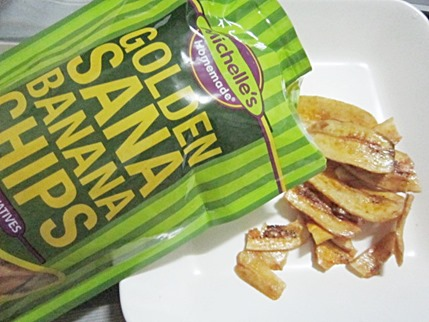 golden sana banana chips, 240baon