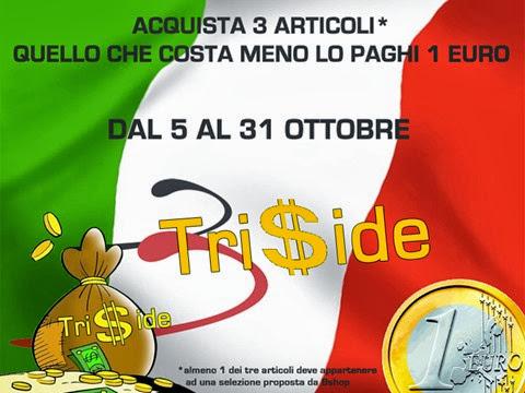 Triside 2013 | 5-31 ottobre nei negozi Bshop