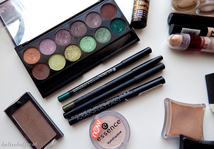 Green Smokey Eye products tutorial