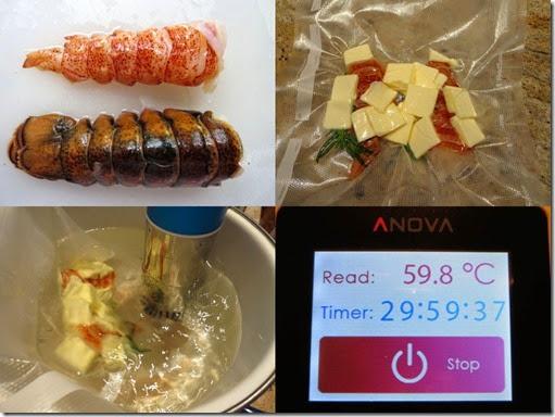 Lobster Sous vide composit