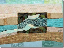 Ice Jam, by Sue Reno, Detail 2