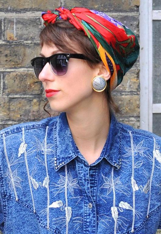 Clip Earrings, £8, Vintage Tartlette
