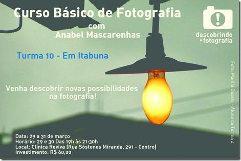 Curso de Foto - Turma 10 - Itabuna