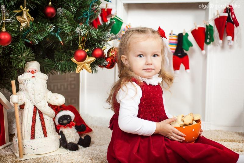 Детский новогодний фотопроект Рождественские мечты. 1. Варя-11