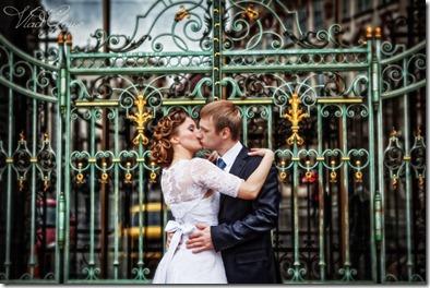 Свадебные фотографии - Прага