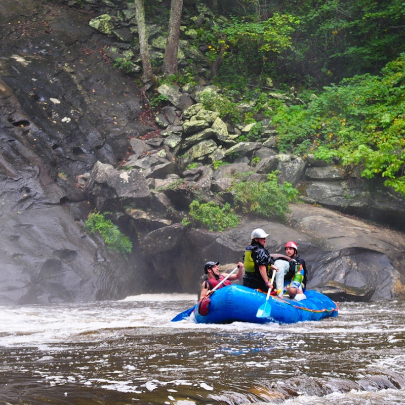 raft bald river falls