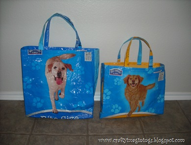 How To Make Totes Out Of Dog Food Bags