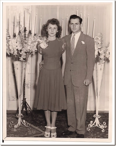 Mom and Dad August 2, 1947