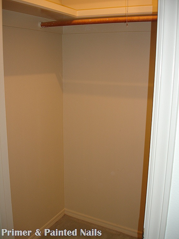 Powder Bath Closet Before