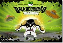 jogo jogos game games online on-line on line ben 10 ben10 baladecanhao-aoataque