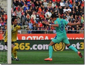 Alexis sanchez marcó el gol