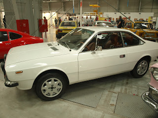 Lancia Beta Coupe z boku