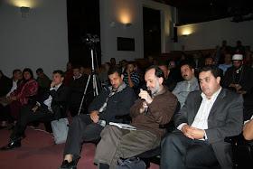"""Debate """"Situación actual del Islam de España y perspectivas de futuro"""". Aula Magna del edificio de La Nau de la Universitat de Valencia. Sábado 22 de octubre de 2011. Intervención Comunidad de las Islas Baleares."""