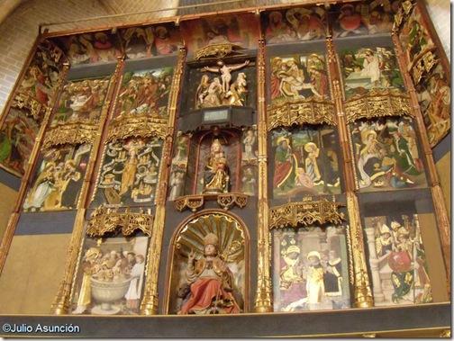 Retablo de la Iglesia de San Saturnino - Artajona