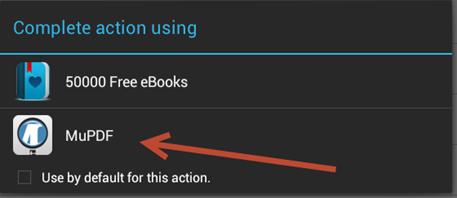 แอปอ่าน pdf บน Android