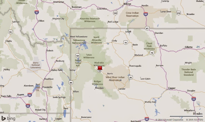 Mud-on-the-tires Full-time RV Adventure: WY -- Dubois, 7 Jul-11 Aug 2014