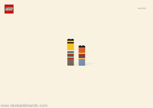 Ernie e bert  lego minimalista