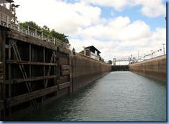 4961 Michigan - Sault Sainte Marie, MI -  St Marys River - Soo Locks Boat Tours - inside MacArthur Lock