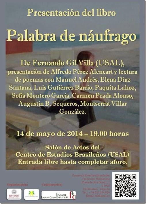Cartel Fernando Gil Villa